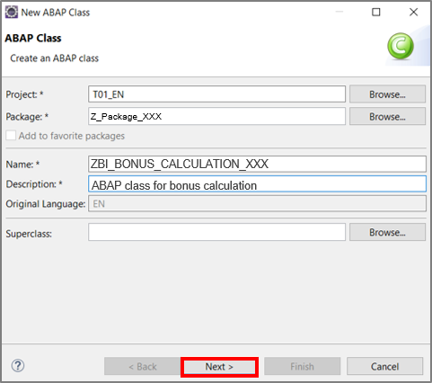Create bonus calculation class