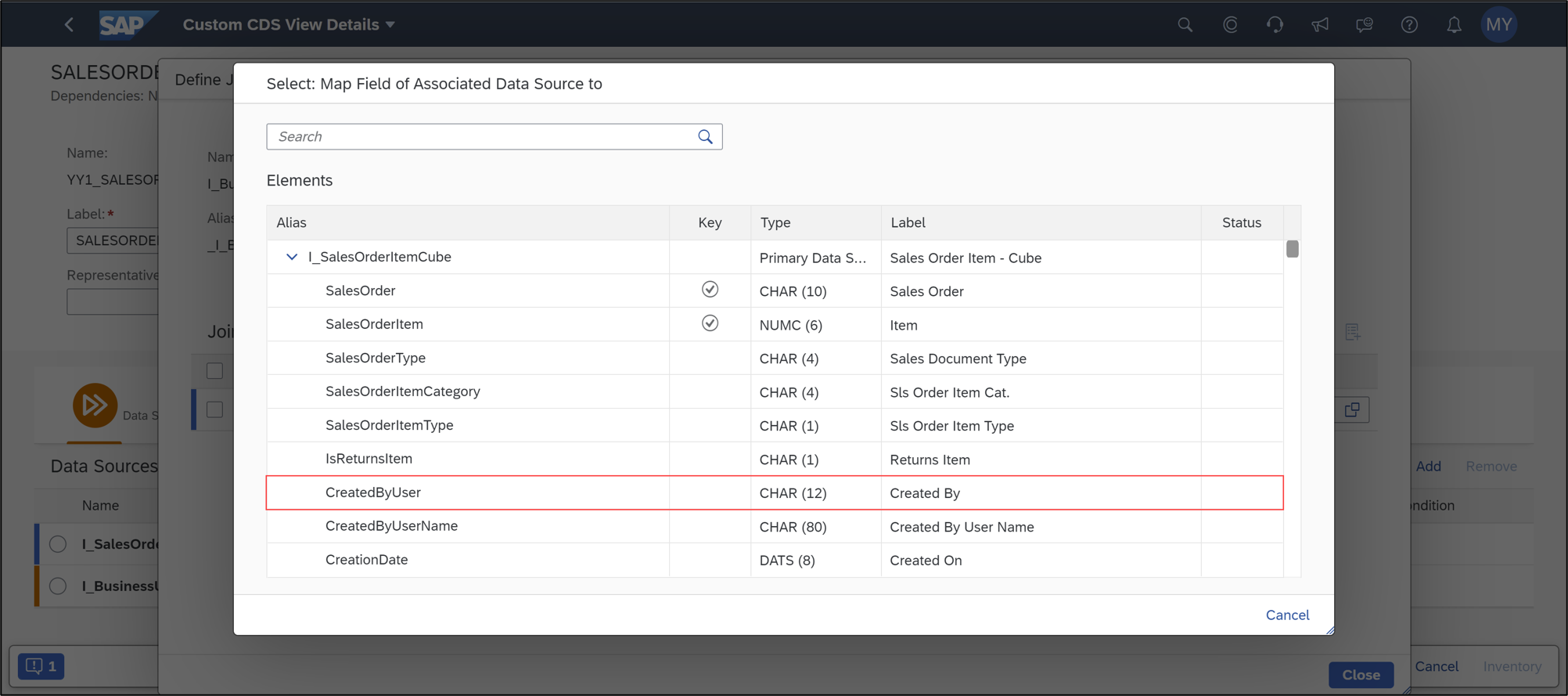 Create Custom CDS View in SAP S/4HANA Cloud