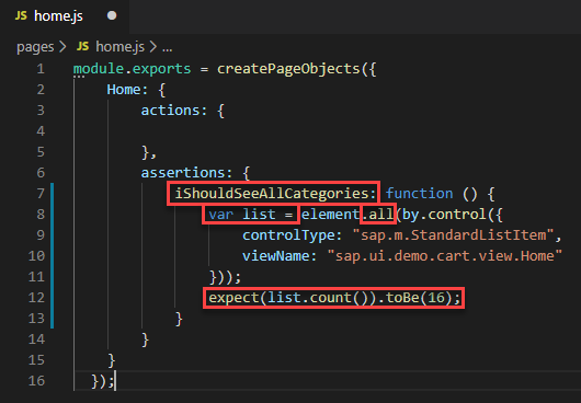Add Name and Additional Code Snippets for iShouldSeeAllCategories