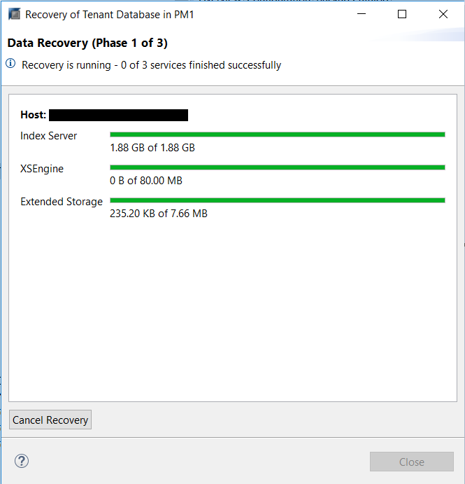 Data Recovery Performance