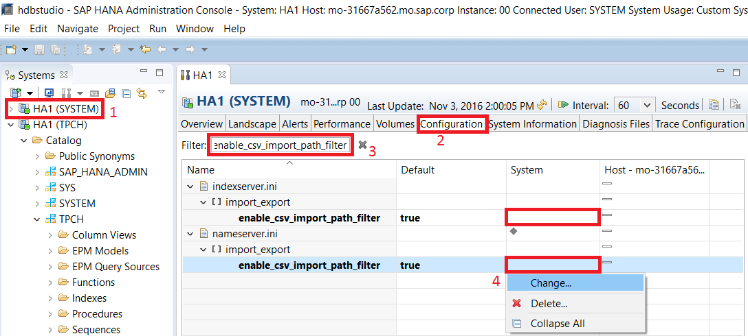 Create Tables and Import Data