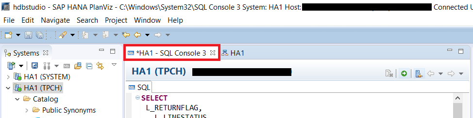 Go Back To SQL Console