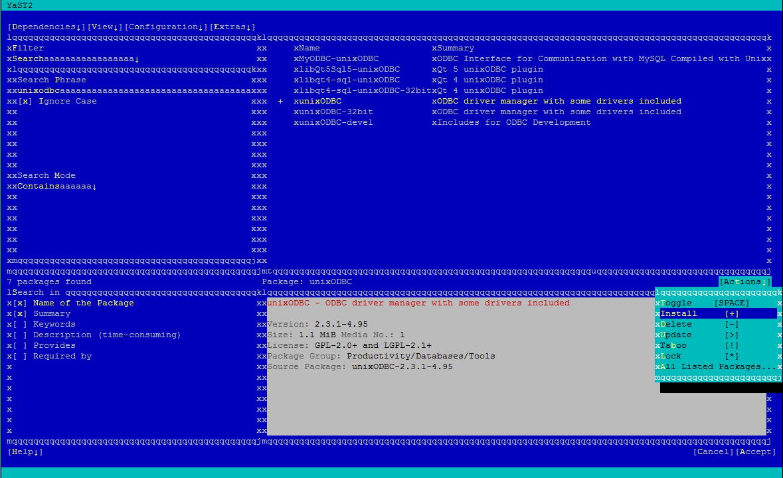 Install and Configure unixODBC