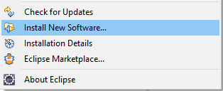 Install New Software