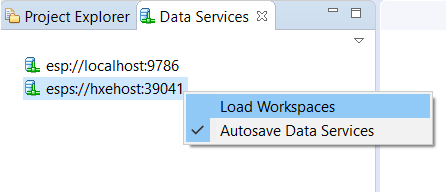 Load Workspaces
