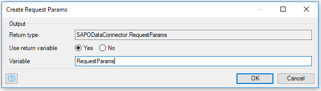 Create Request Params