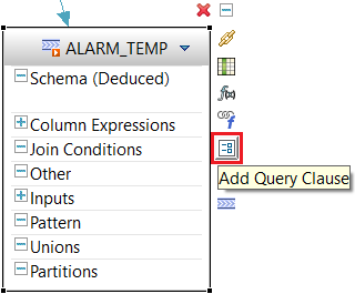 add query