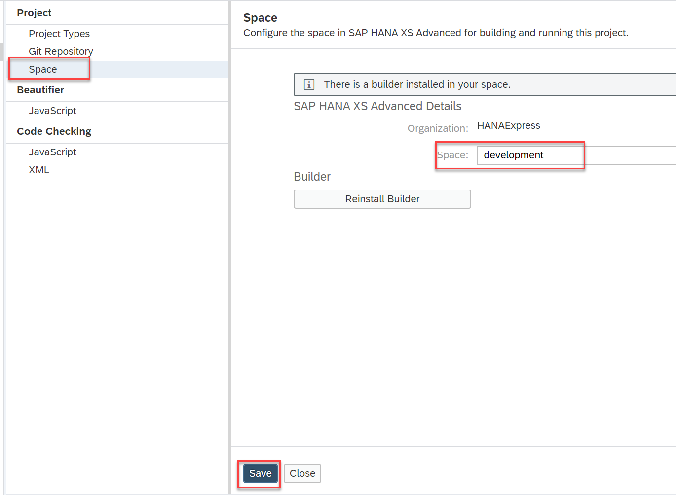 SAP HANA XS Advanced, Connecting to SAP Web IDE and cloning