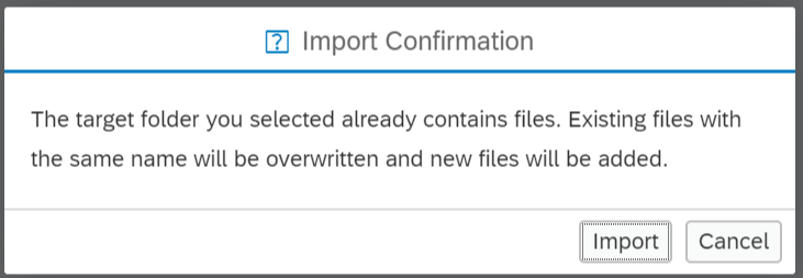 Import Tables and Large Datasets (XS Advanced)