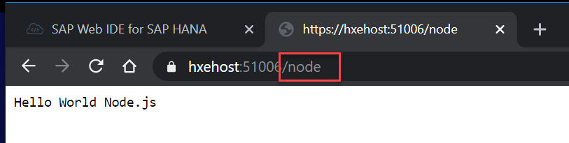 Replace with node